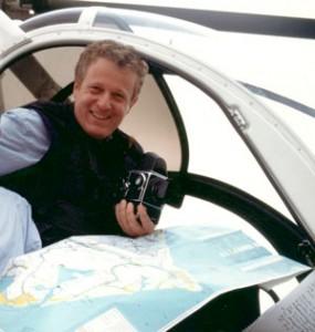 Nazario Spadoni su elicottero
