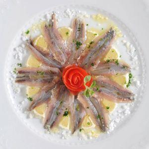 fotografia food secondo piatto cibo pesce azzurro -