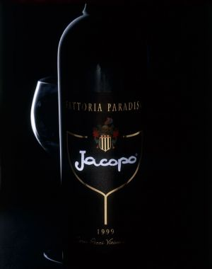 foto food bottiglia vino