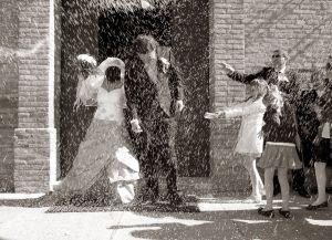 Foto Wedding matrimonio lancio riso 6