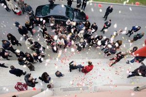 Foto Wedding lancio riso Forlì 9