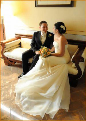 Servizio fotografico matrimonio interno al piano Sarsina