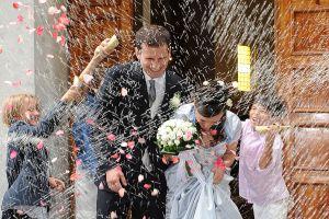 Foto matrimonio 6 lancio riso