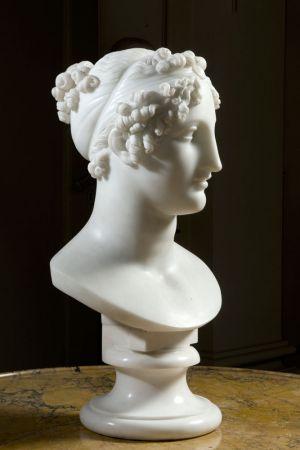 Servizio fotografico a scultura opera d'arte arte busto 2