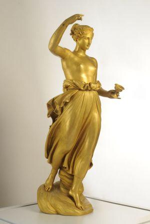 Servizio fotografico arte statua oro-fotografia di opere d'arte canova
