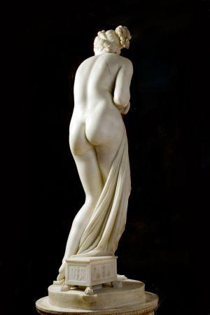 servizio fotografico D'arte  statua Canova 5