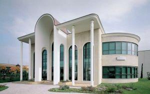 Fotografia di architettura Faenza coop querzoli