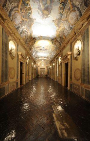 Fotografia architettonica interni villa bologna