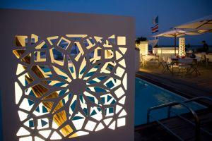 Fotografia architettonica esterni notte