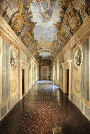Fotografia architettonica interni villa 2 bologna