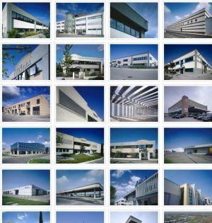 Viste foto architettura-fotografia-edilizia industriale -prefabbricati fotografo
