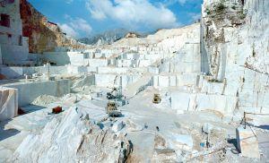 Fotografia industriale cave carrara
