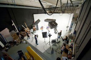 Fotografia industriale sala posa